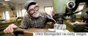 AGING MAN WORK