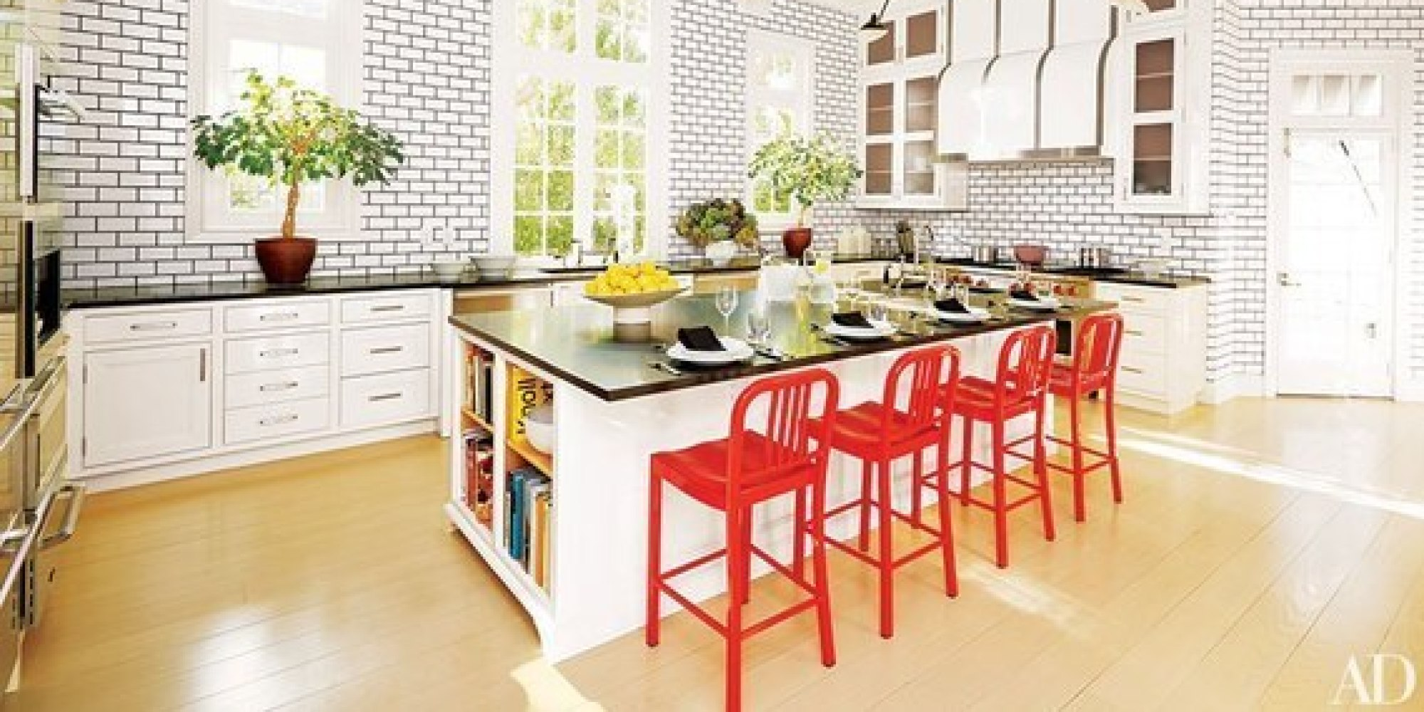 Kitchen Accents Welcome Spring With These 10 Colorful Kitchen Accents Huffpost
