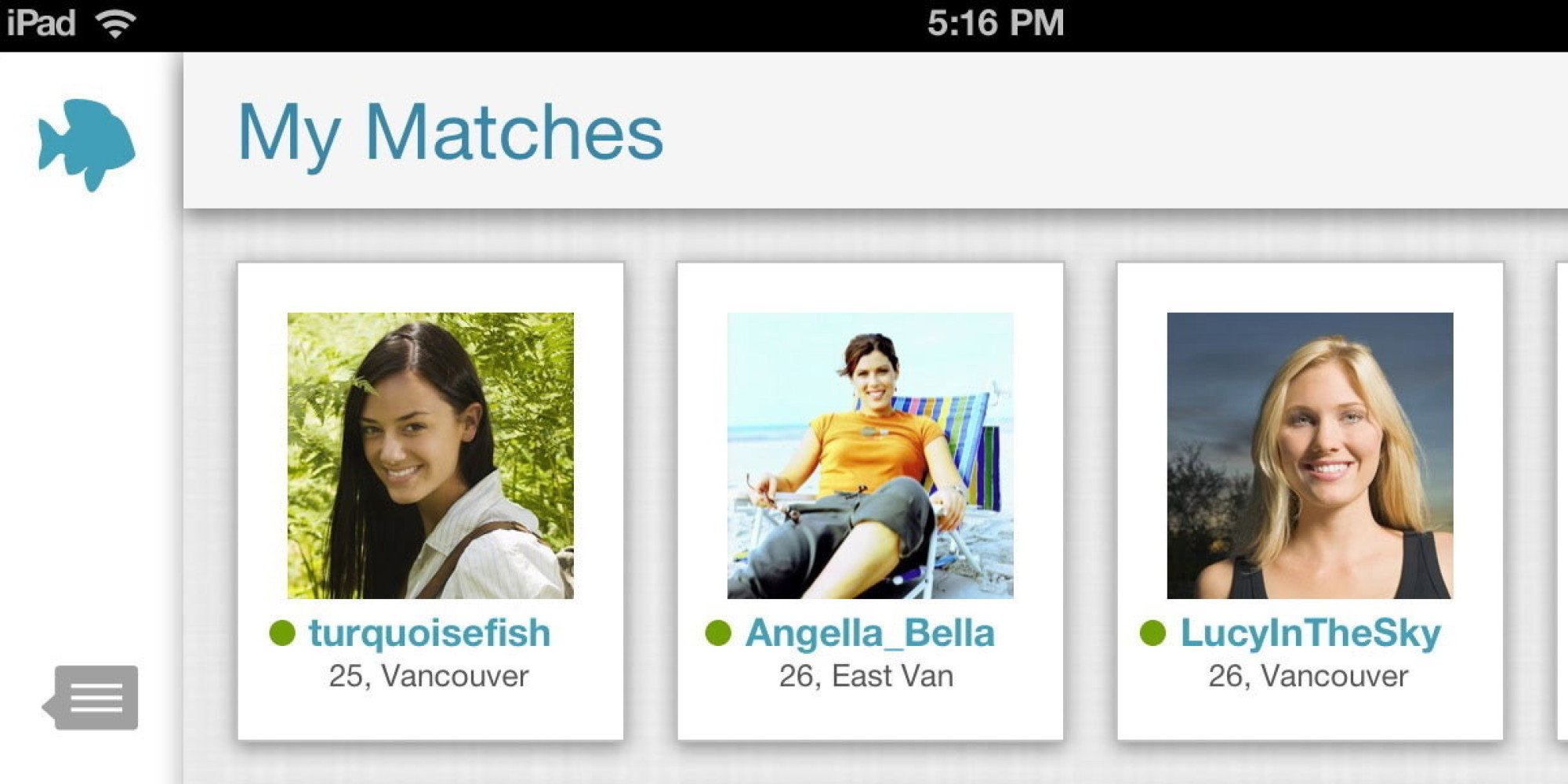 Plentyoffish vancouver based online dating service passes for Pleny of fish