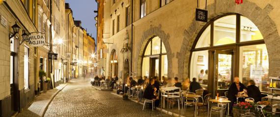STOCKHOLM CAFE STREET