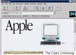 Apple's Old Website Is A Retro Treasure Trove