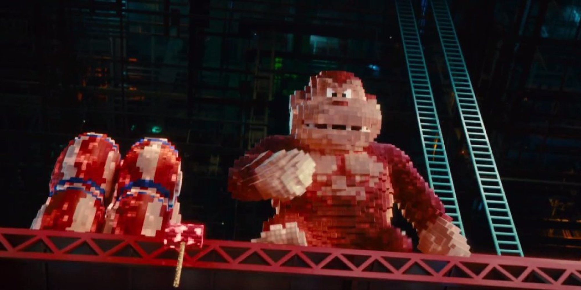 Pac Man And Donkey Kong Are Out For Blood In The First