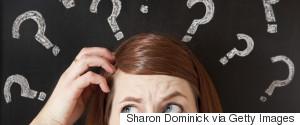 QUESTION HEAD SCRATCH