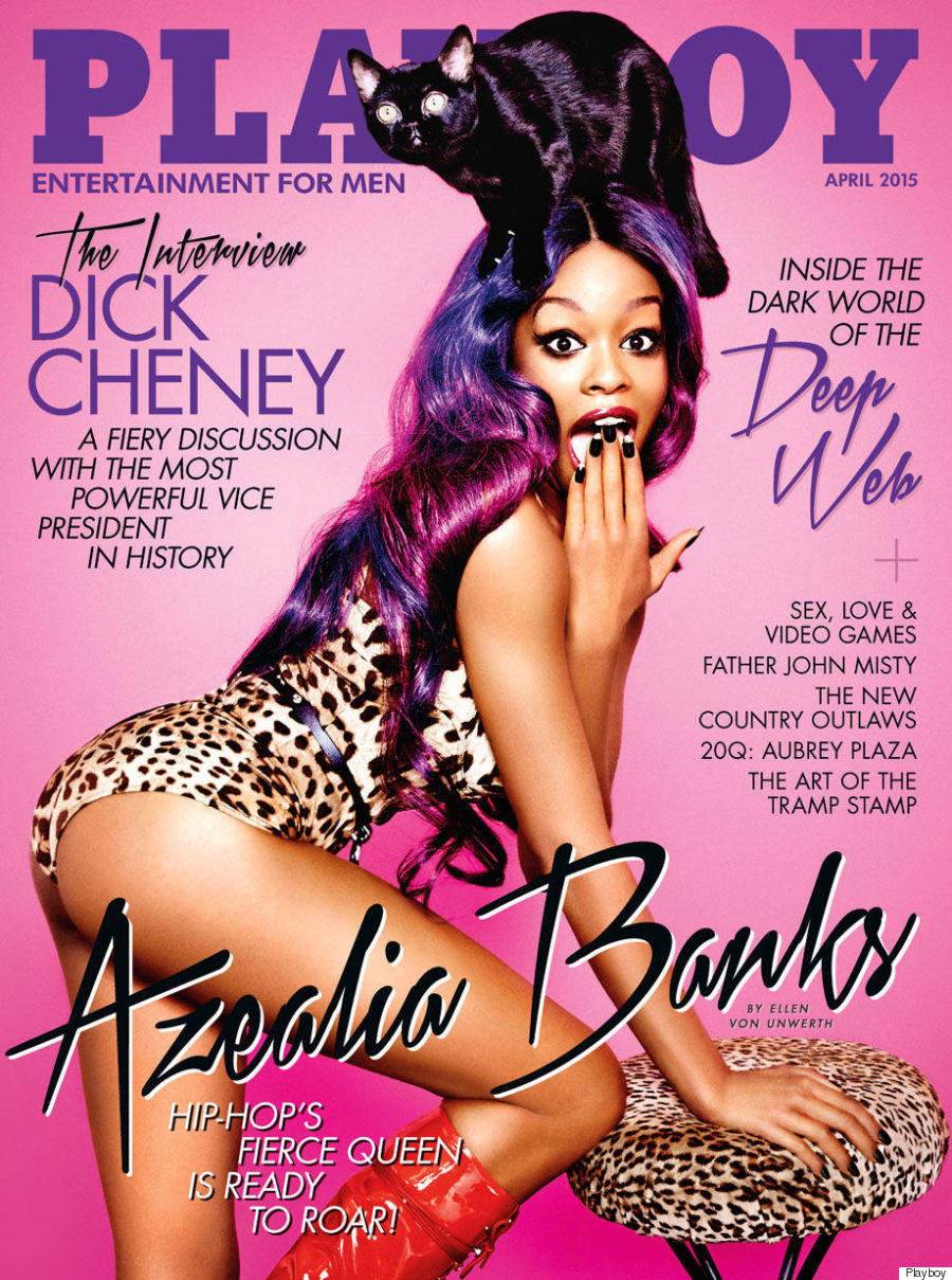 Azealia Banks' Playboy Cover Is A Cat Lover's Dream