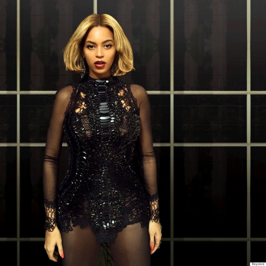 beyonce reveals a hot new bob for her fans