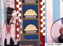 Jimmy Fallon And Jennifer Garner Play 'Rock, Paper, Scissors, PIE'