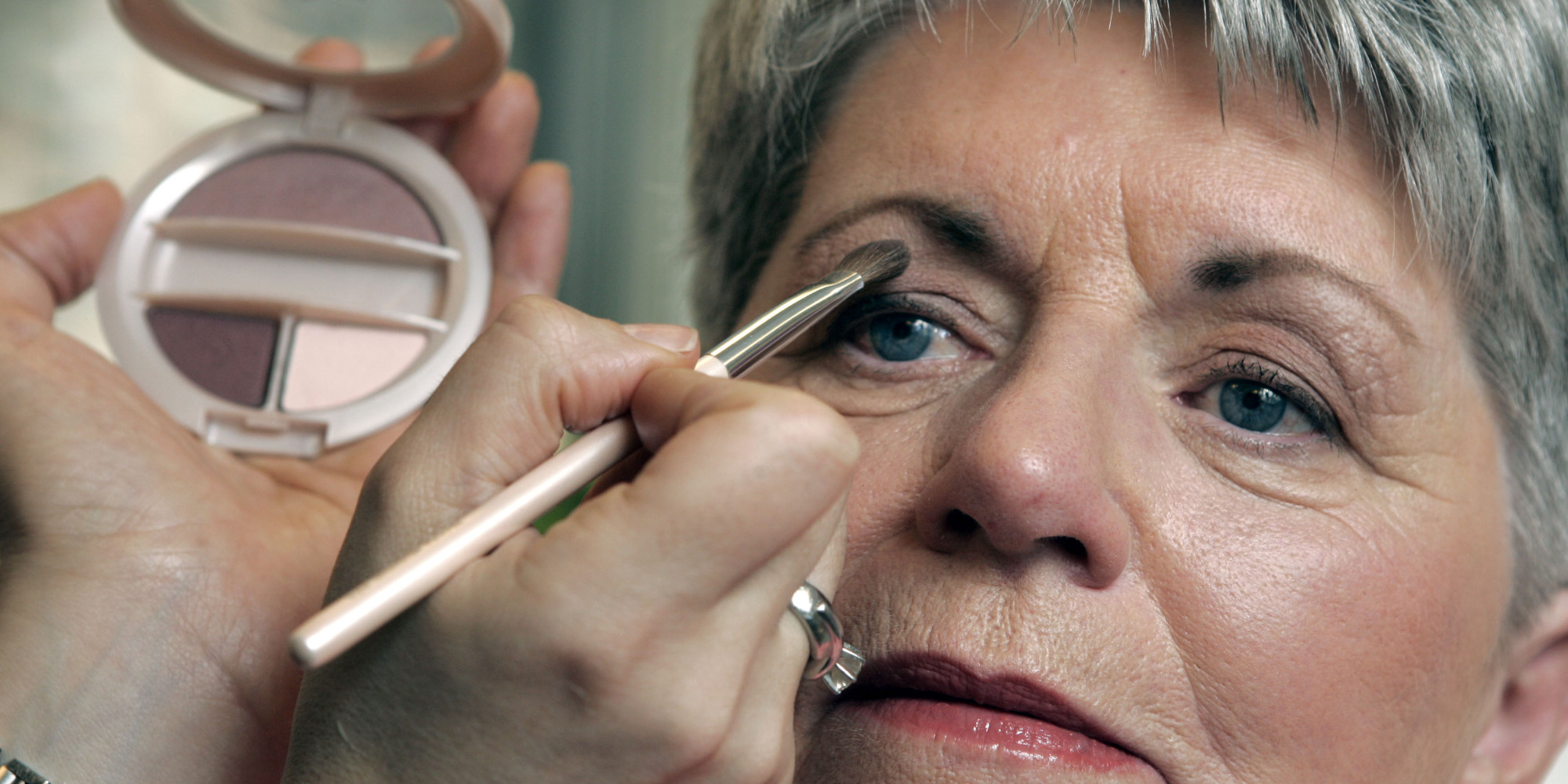 Makeup for eyes over 50