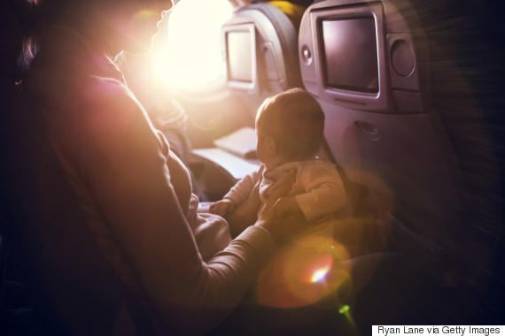 infant airplane