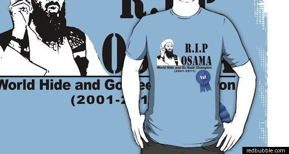 565dec71b Osama Bin Laden Merchandise: New Yorkers Cash In (PHOTOS) | HuffPost