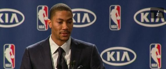 DERRICK ROSE MVP SPEECH