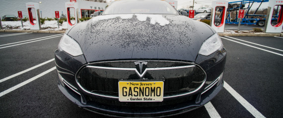 tesla can finally  e in from the rain bloomberg via getty images