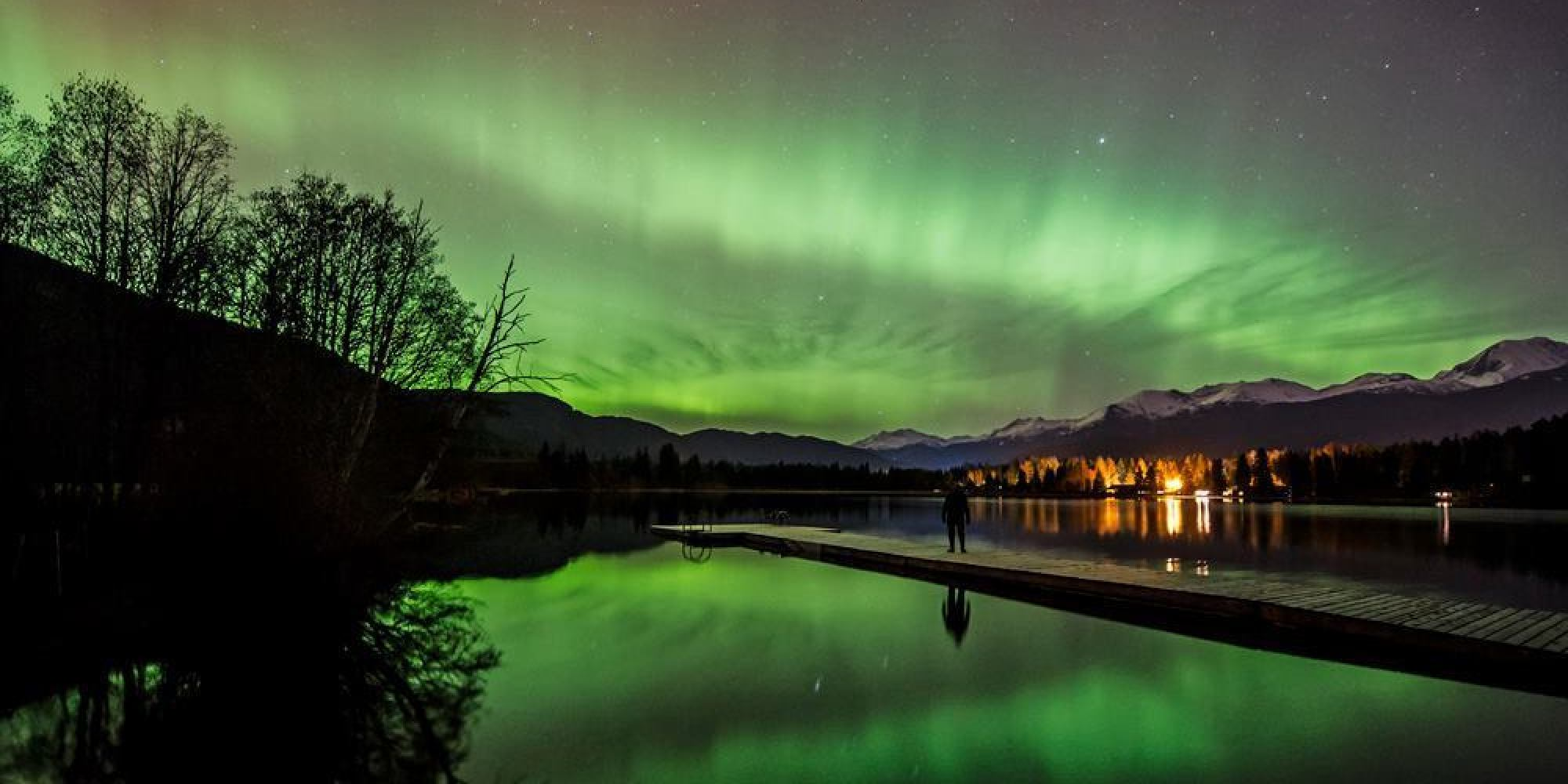 Northern Lights Video Made In Whistler Captures The Dancing Sky    Huffington Post Canada