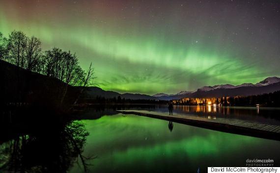 northern lights whistler