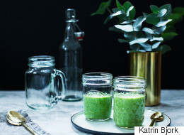 Kale Smoothie for Breakfast