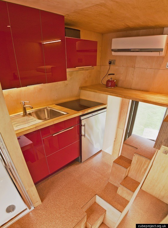 The Cube Living Large In A Tiny Eco Home PHOTOSVIDEO