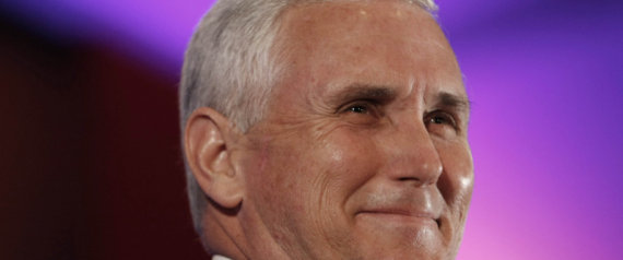 MIKE PENCE INDIANA GOVERNOR 2012