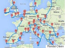 Le «road trip» idéal pour découvrir l'Europe