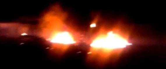 OSAMA BIN LADEN COMPOUND BURNING VIDEO