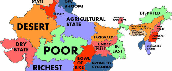 What The World Thinks Of Indian States According To Google