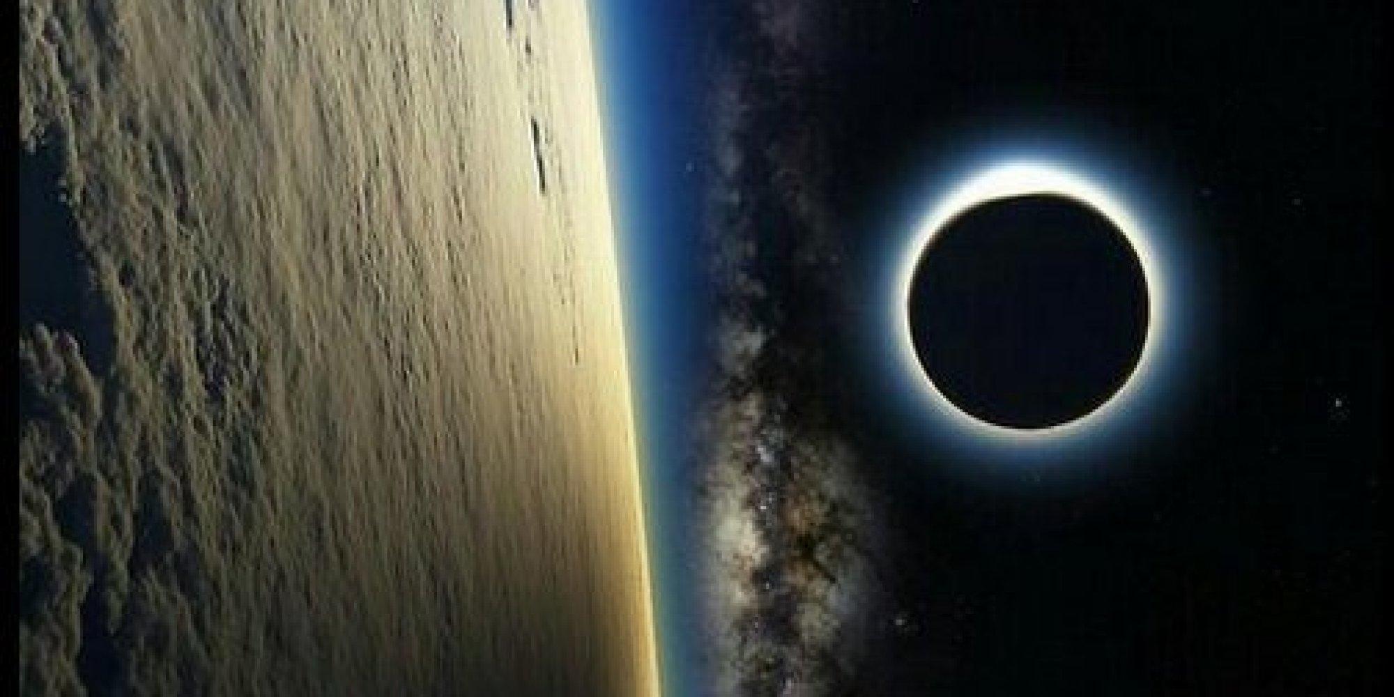 lunar eclipse space station - photo #12