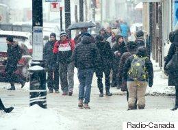 Le projet de trottoirs chauffants soulève l'enthousiasme à Montréal