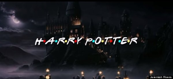 harry potter friends intro