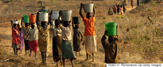 women water heads africa