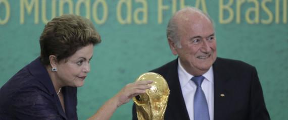 FIFA WORLD CUP BRAZIL BLATTER