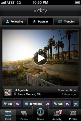 Viddy' App For iPhone Beautifies Your Videos, Shares Them