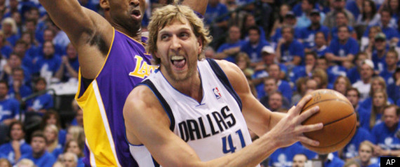 DIRK NOWITZKI MAVERICKS LAKERS