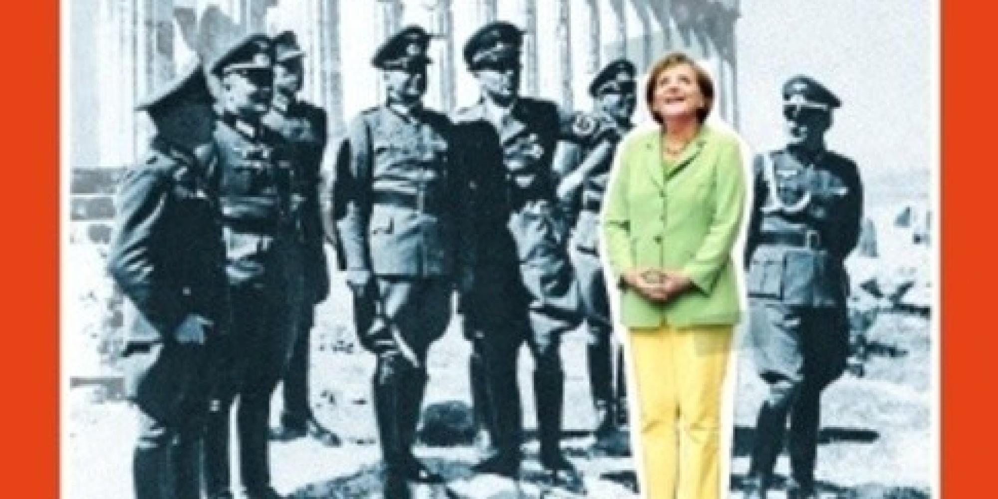 Una portada de 39 spiegel 39 con merkel entre nazis desata la for Facebook spiegel