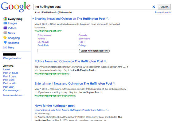 Google's New Search Results Pages: Is The Simplified Look Elegant Or Ugly? (PICTURES)