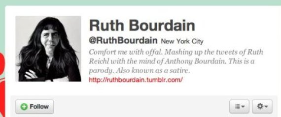 RUTH BOURDAIN JAMES BEARD AWARDS