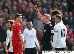 At Least Gerrard's Sending Off Has Amused Everybody (Except Liverpool Fans)