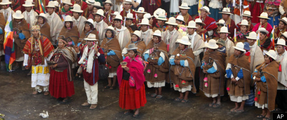 Mass Wedding Ceremony Bolivia
