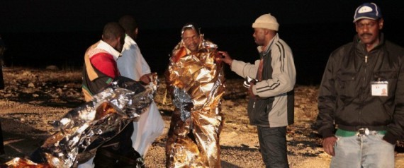 Libya Boat Sinks