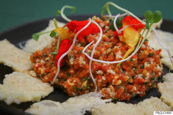 roasted bell pepper tartare by michael voltaggio