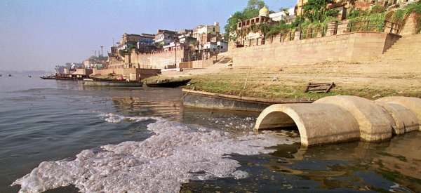 ganges pollution clean