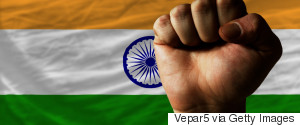 VICTORY SIGN INDIA