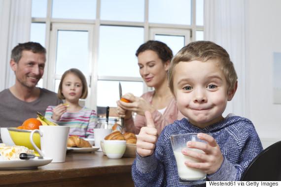 breakfast milk