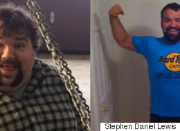 Last Year He Went Vegan And Quit Alcohol. Today He's 186 Pounds Lighter