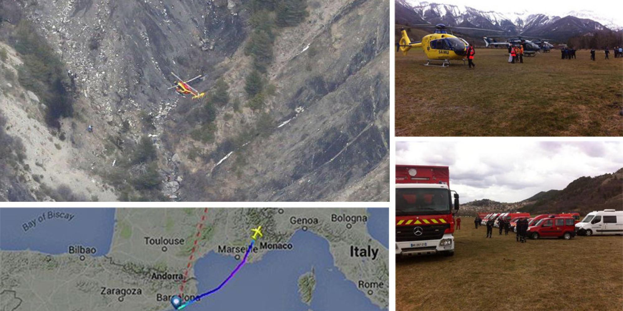 En direct crash du vol germanwings 9525 les derni res informations sur l 39 airbus a320 qui s - Bureau enquete accident avion ...