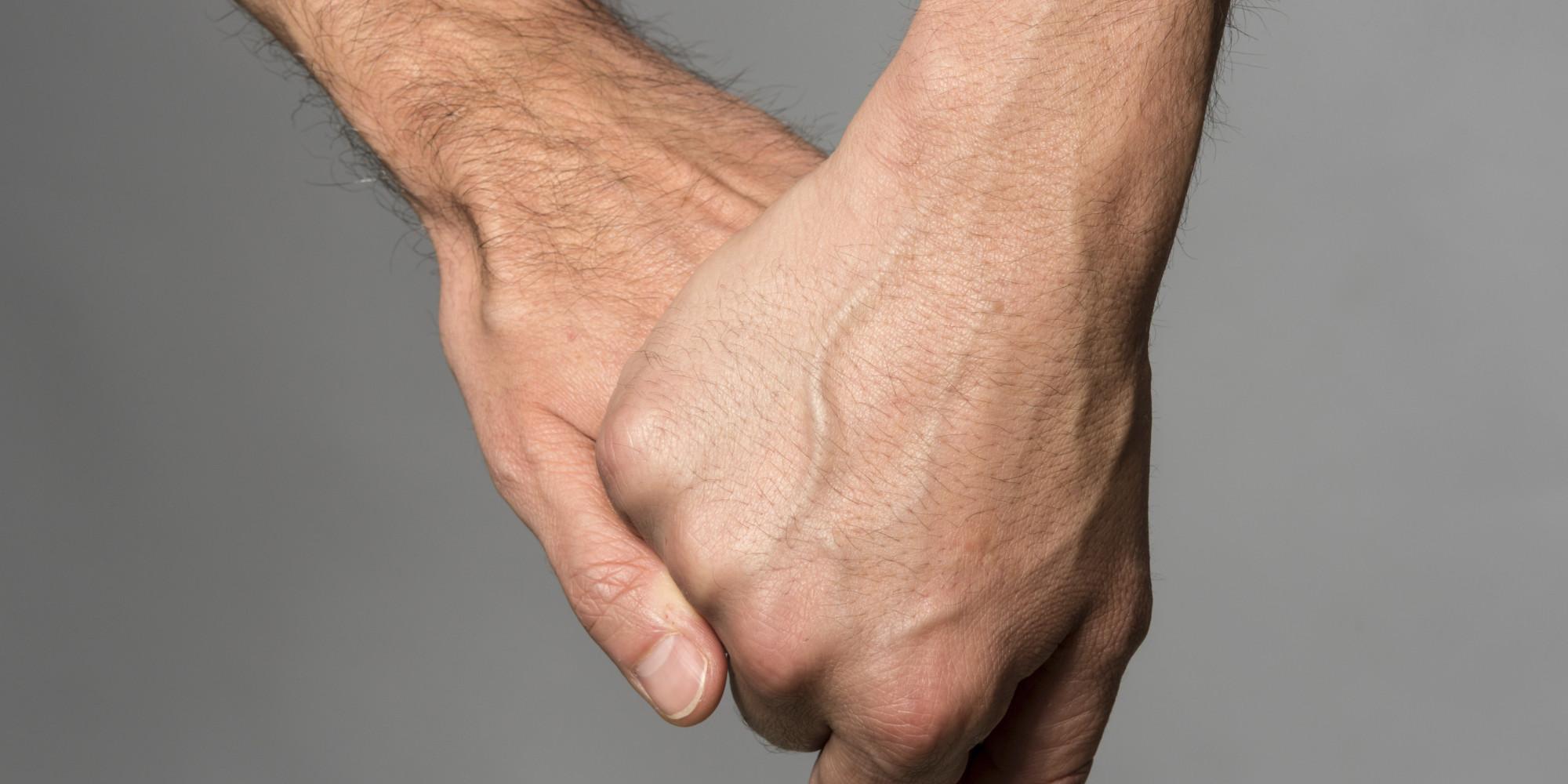 Gay Men Holding Hands 106