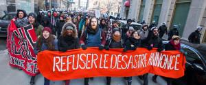 Manifestation Etudiants