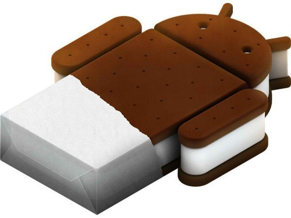 Google Ice cream Sandwich logo
