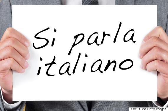 speaking italian