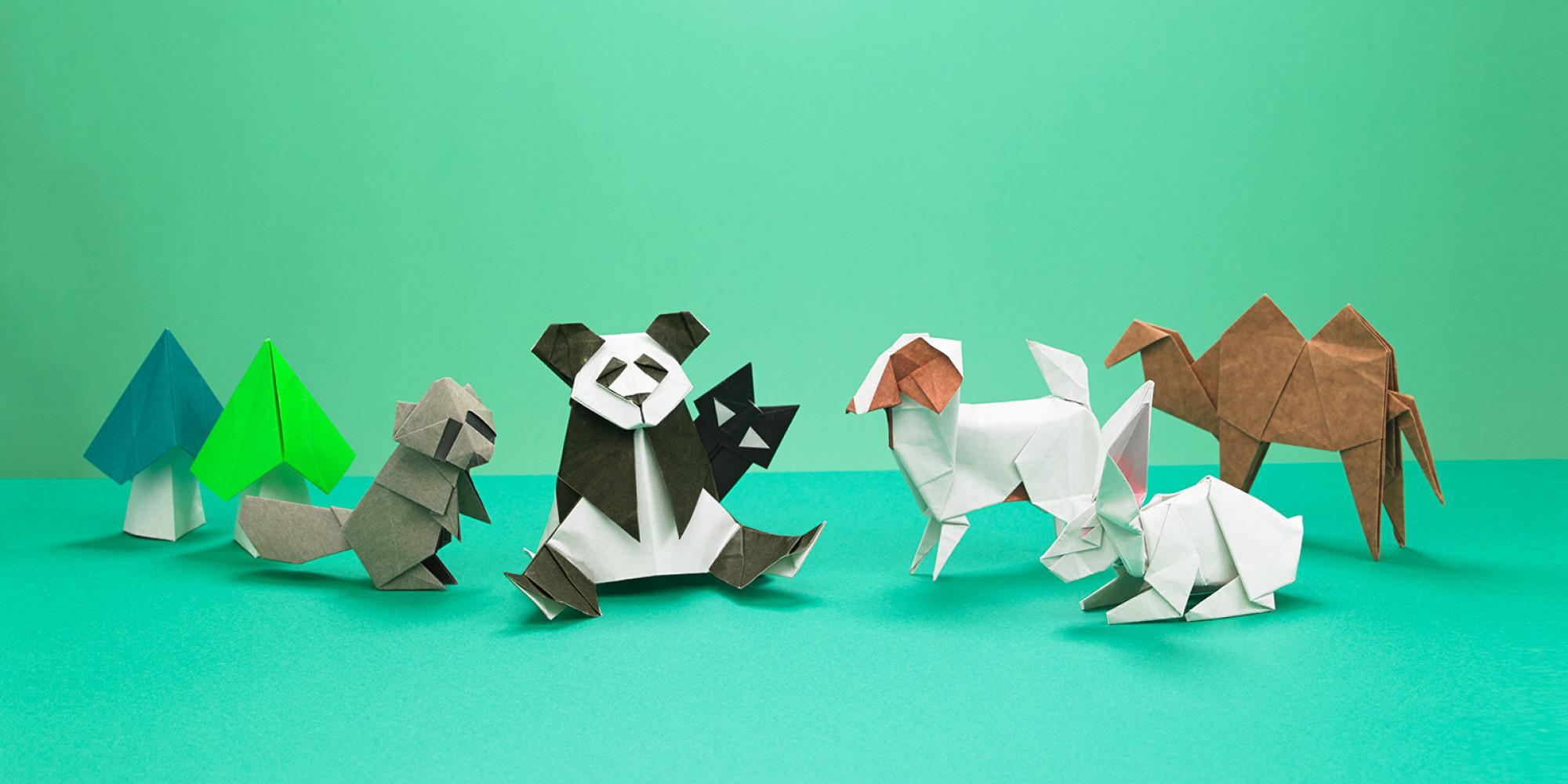 すべての折り紙 パンダ 折り紙 : 折り紙ワールドへようこそ ...