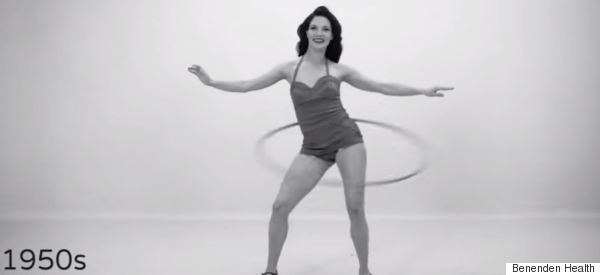 100 Years Of Women's Fitness In 100 Seconds