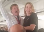 Pilot Surprises Flight Attendant Girlfriend With A Marriage Proposal At 34,000 Feet