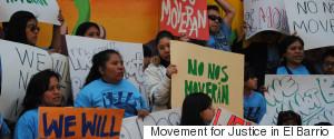 MOVEMENT FOR JUSTICE IN EL BARRIO